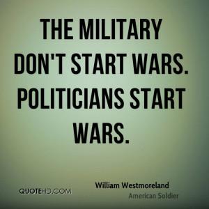 William Westmoreland War Quotes