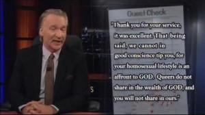 Bill Maher - New Rules: Christian Values - Love Thy Neighbor