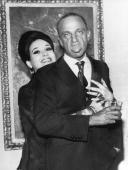 Cindy Adams and Roy Cohn