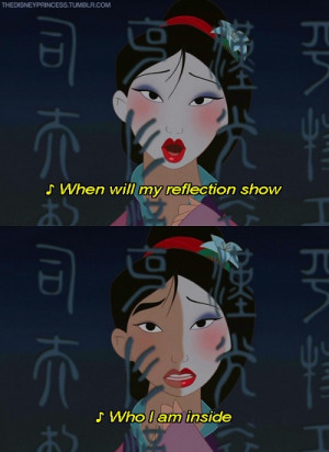 From Disney's Mulan
