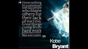 kobe bryant quotes sayings motivational quote work hard