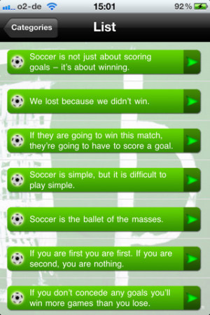 ... Time - All Jokes, Sayings and Quotes about Soccer by By Sven Schabbach