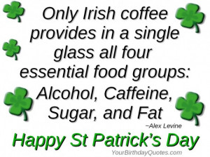 Irish Coffee Perfect for St Patrick's Day