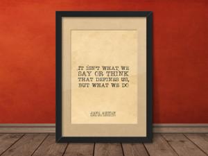 Printable Art, Jane Austen Quote, print art Sense Sensibility wall ...