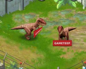 Jurassic Park Builder Ceratosaurus