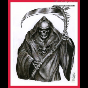 ... and the world of tattoos grim reaper 1 grim reaper skull sleeve
