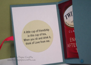 friendship tea bag poems