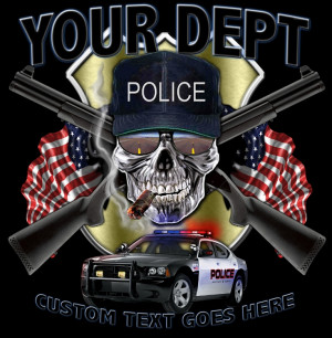 Police SWAT Law Enforcement Custom Shirts