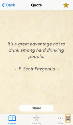 Screenshot - Stop Drinking Quotes - Motivational thoughts to help to ...