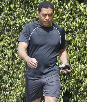 Re: Chiwetel Ejiofor looks muscular whilst out for a run ahead of ...