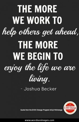 Helping Others Inspirational Quotes