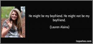 More Lauren Alaina Quotes
