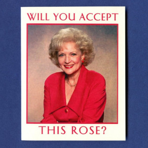 BETTY WHITE CARD - Rose Nylund From Golden Girls - Funny Greeting Card ...