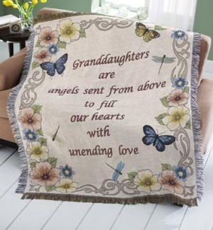 Granddaughter quotes, cute, love, sayings, angels