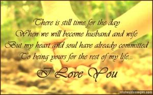 Romantic love quote for him