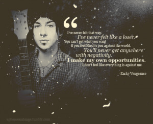 Zacky Vengeance Avenged Sevenfold Quote V Picture
