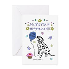 Dalmatian Greeting Card for