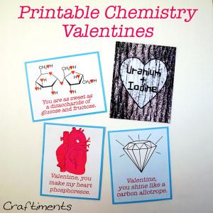 ... : Free Printable Chemistry Valentines + a List of Chemistry Love Puns
