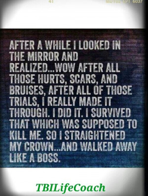 My baby is a Brain Injury Survivor Life Quotes, Like A Boss, Breast ...
