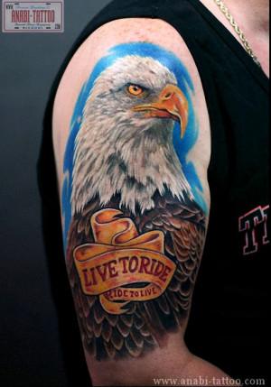 harley davidson biker tattoos designs