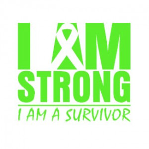 am Strong – I am a Survivor – Lymphoma by cancerapparel.com