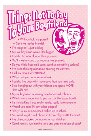 Funny Sexual Sayings To Say To Your Boyfriend Posters Funny Posters