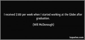 More Will McDonough Quotes