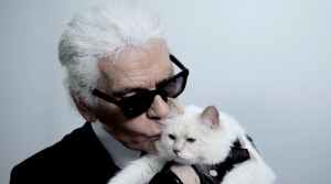 Karl Lagerfeld's cat, Choupette, has just been tapped to front a ...