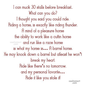 Horse Quotes and Sayings - Page 3
