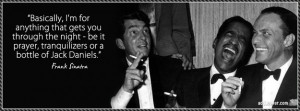 Frank Sinatra Quote Facebook Cover