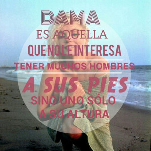 ... popular tags for this image include: ch, dama, frases, lady and altura