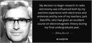 Quotes by Antony Hewish