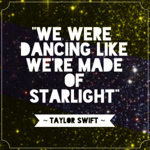 Starlight - Taylor Swift