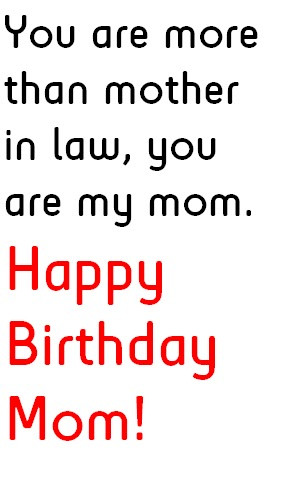 mother in law birthday quotes Mother In Law Funny Quotes