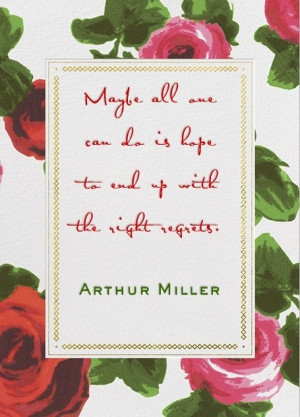 Arthur miller, quotes, sayings, hope, famous