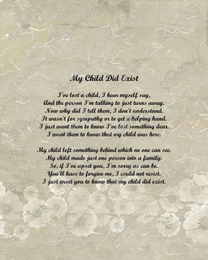 Sympathy Quotes For Loss Of A Child Child memorial poem digital