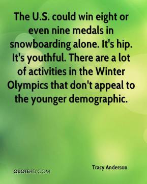 The U.S. could win eight or even nine medals in snowboarding alone. It ...