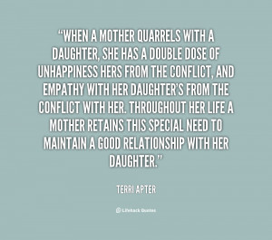 Mother Daughter Quotes...