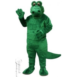 75 albert alligator mascot costume image