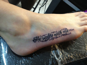 Bible Quote Tattoo