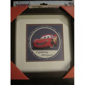 Disney Pixar Cars Character Quotes Framed Artwork Everything Else