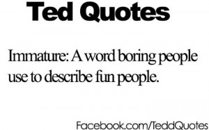 Ted Quotes!(: