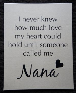 ... Love My Grandma Quotes , Best Nana Quotes , I Love My Nana Poem