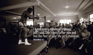Muhammad Ali Motivational Wallpaper