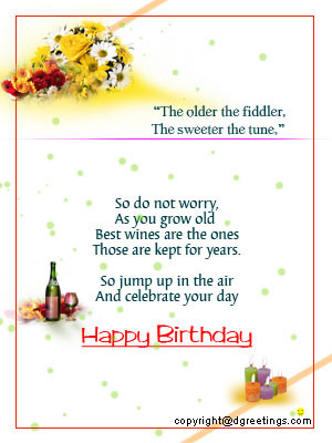 birthday sayings for friends
