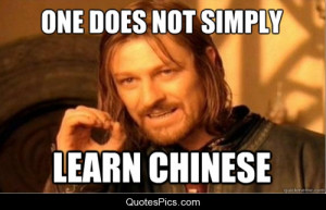 ... languages funny languages learning chinese Lord of the Rings mandarin