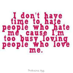 Time To Hate For Haters Keep Moving
