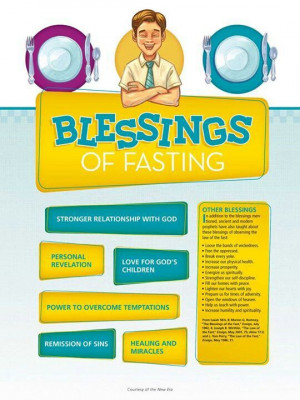 .Lds Fasting, Blessed, Church Stuff, Fast Sunday, Lds Quotes Fasting ...