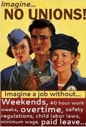 ... unions by buying union made to keep this country strong! ~ NO! And you