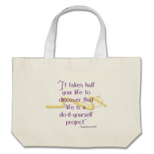 Do-It-Yourself Quote Canvas Bag